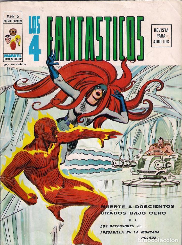 Cómics: Los 4 Fantásticos Vértice Volumen 2. Colección Completa. 28 ejemplares. - Foto 7 - 92920370