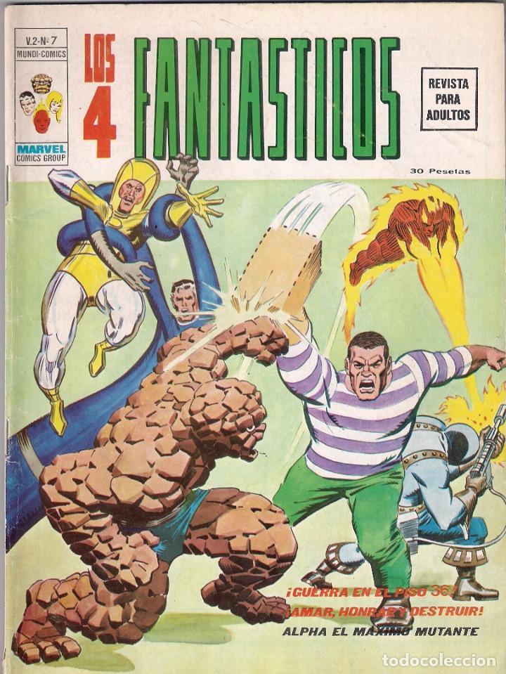 Cómics: Los 4 Fantásticos Vértice Volumen 2. Colección Completa. 28 ejemplares. - Foto 8 - 92920370