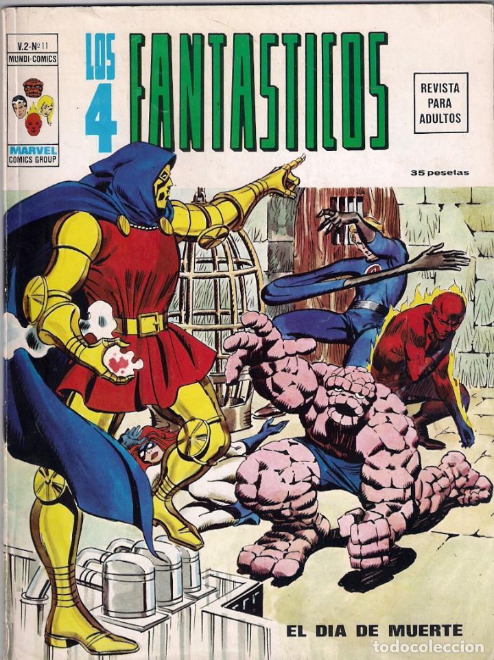 Cómics: Los 4 Fantásticos Vértice Volumen 2. Colección Completa. 28 ejemplares. - Foto 9 - 92920370