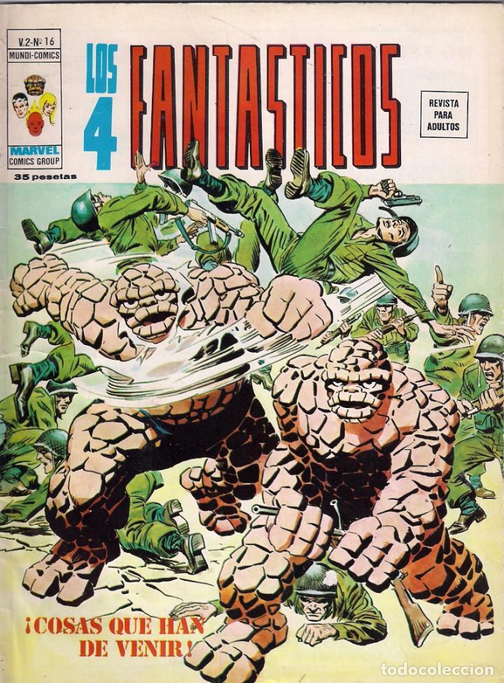 Cómics: Los 4 Fantásticos Vértice Volumen 2. Colección Completa. 28 ejemplares. - Foto 14 - 92920370
