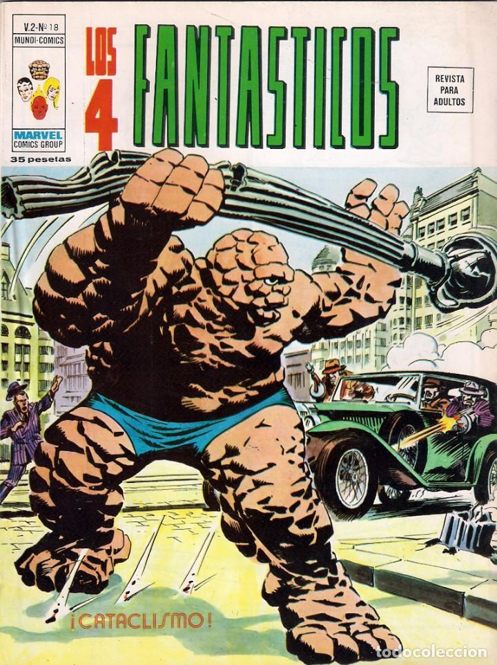 Cómics: Los 4 Fantásticos Vértice Volumen 2. Colección Completa. 28 ejemplares. - Foto 16 - 92920370