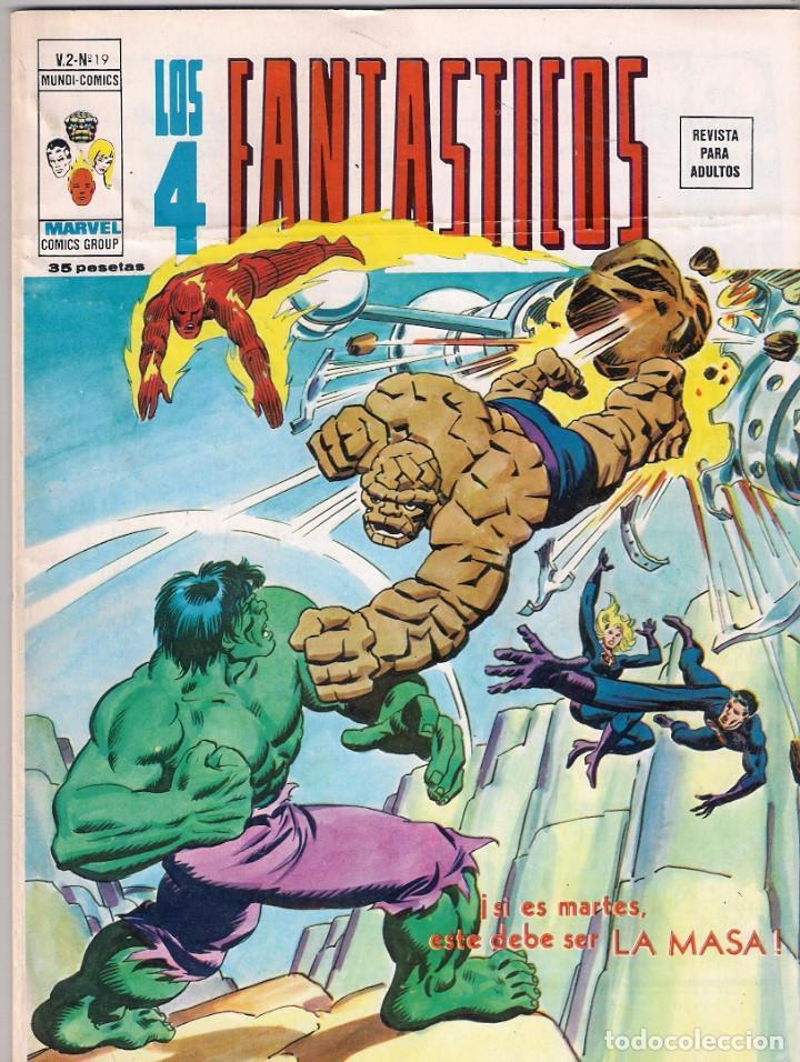 Cómics: Los 4 Fantásticos Vértice Volumen 2. Colección Completa. 28 ejemplares. - Foto 17 - 92920370