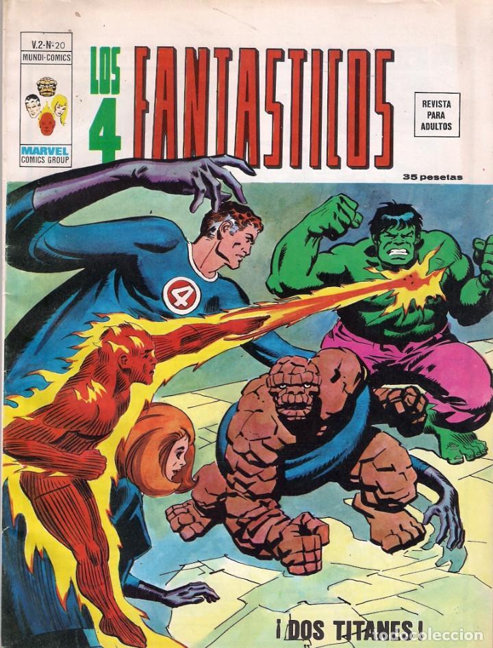 Cómics: Los 4 Fantásticos Vértice Volumen 2. Colección Completa. 28 ejemplares. - Foto 19 - 92920370