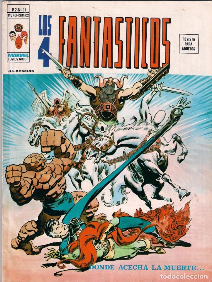 Cómics: Los 4 Fantásticos Vértice Volumen 2. Colección Completa. 28 ejemplares. - Foto 20 - 92920370