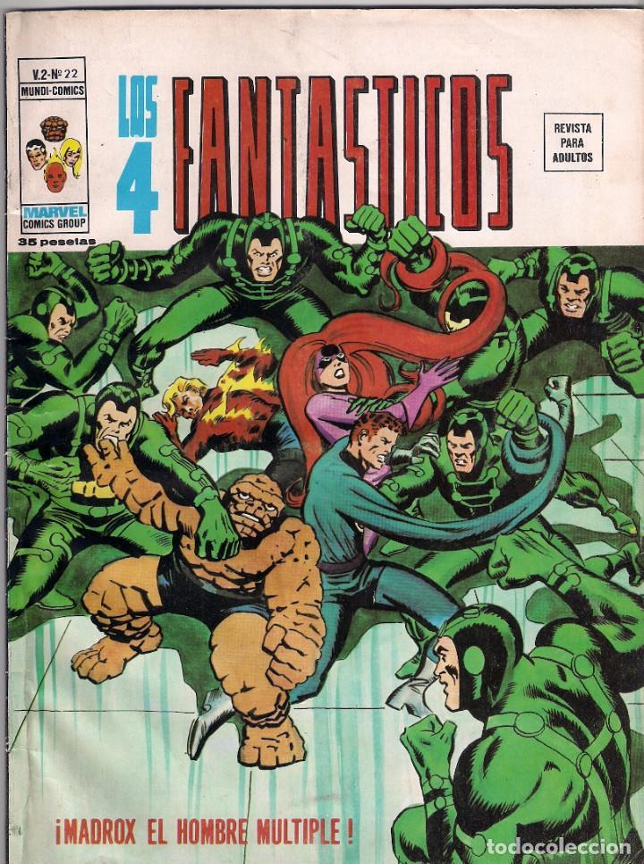 Cómics: Los 4 Fantásticos Vértice Volumen 2. Colección Completa. 28 ejemplares. - Foto 22 - 92920370