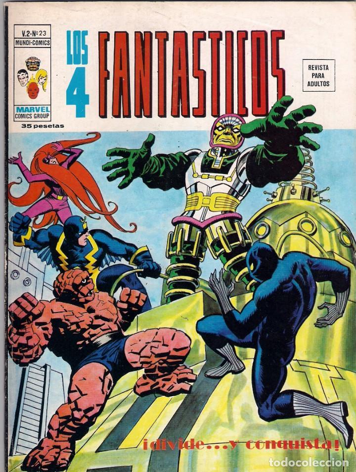 Cómics: Los 4 Fantásticos Vértice Volumen 2. Colección Completa. 28 ejemplares. - Foto 23 - 92920370