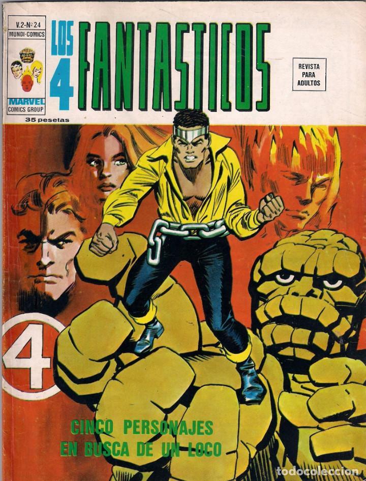 Cómics: Los 4 Fantásticos Vértice Volumen 2. Colección Completa. 28 ejemplares. - Foto 24 - 92920370