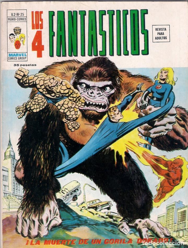 Cómics: Los 4 Fantásticos Vértice Volumen 2. Colección Completa. 28 ejemplares. - Foto 25 - 92920370