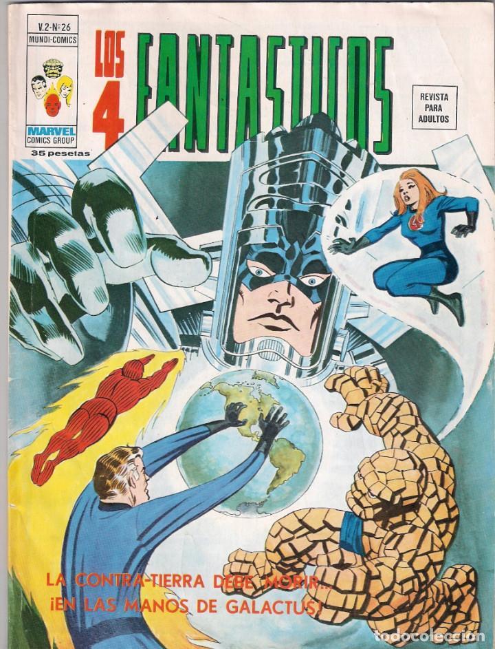 Cómics: Los 4 Fantásticos Vértice Volumen 2. Colección Completa. 28 ejemplares. - Foto 26 - 92920370