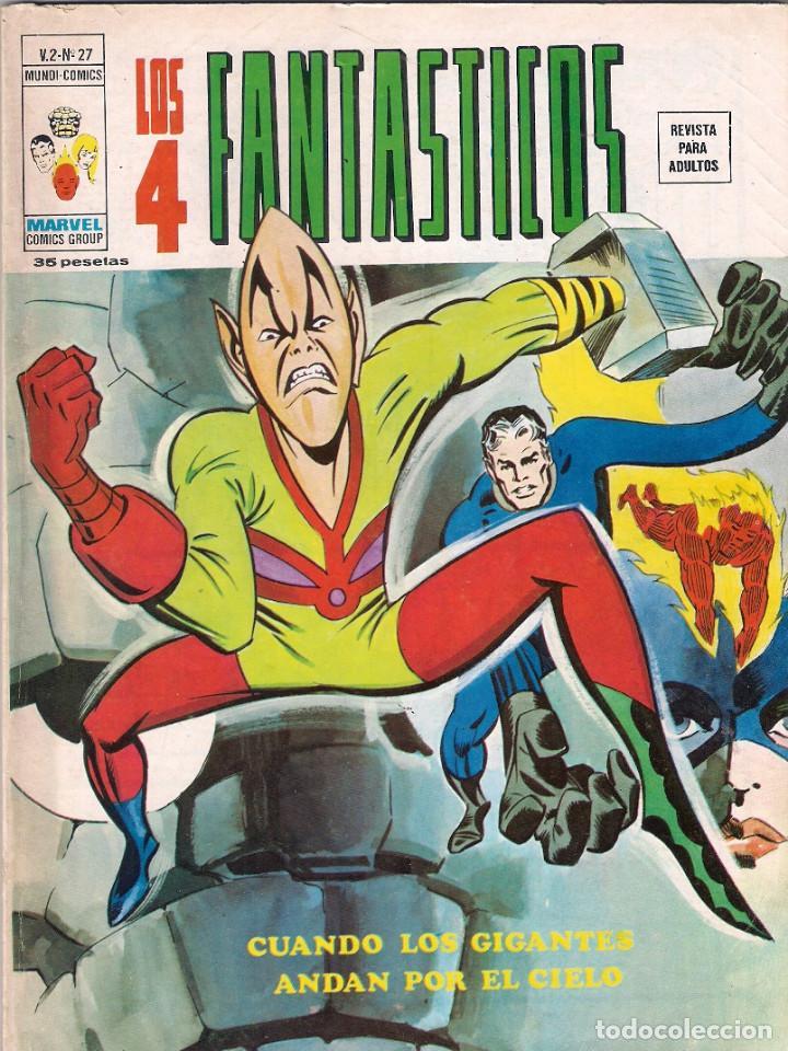 Cómics: Los 4 Fantásticos Vértice Volumen 2. Colección Completa. 28 ejemplares. - Foto 27 - 92920370