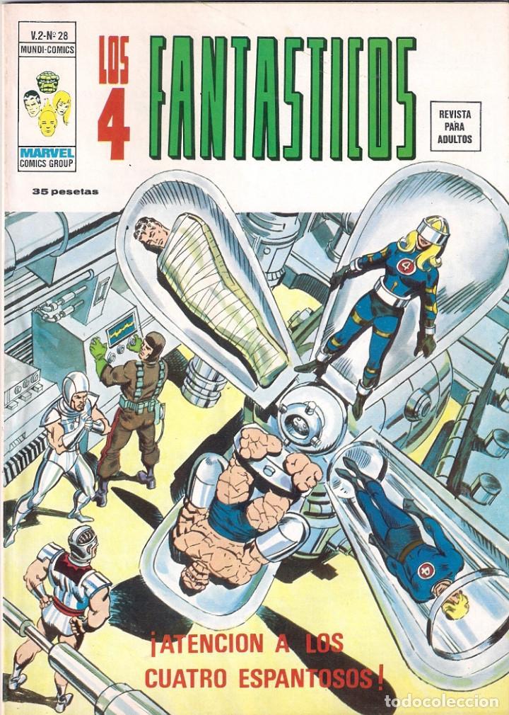 Cómics: Los 4 Fantásticos Vértice Volumen 2. Colección Completa. 28 ejemplares. - Foto 28 - 92920370