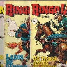 Cómics: RINGO LEY. LOTE DE 11NÚMEROS. Lote 93190575