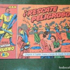 Cómics: EL CAPITAN TRUENO FACSIMIL EL PERIODICO NUMERO 018 - RESCATE PELIGROSO. Lote 93293400