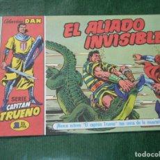 Cómics: EL CAPITAN TRUENO FACSIMIL EL PERIODICO NUMERO 008 - EL ALIADO INVISIBLE. Lote 93294035