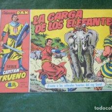 Cómics: EL CAPITAN TRUENO FACSIMIL EL PERIODICO NUMERO 007 - LA CARGA DE LOS ELEFANTES. Lote 93294105