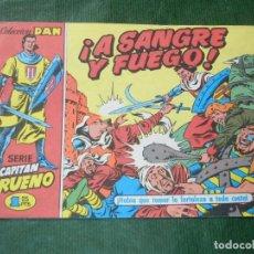 Cómics: EL CAPITAN TRUENO FACSIMIL EL PERIODICO NUMERO 001 - A SANGRE Y FUEGO. Lote 93294305