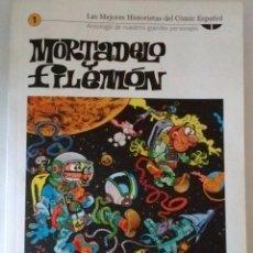 Cómics: LAS MEJORES HISTORIETAS DEL COMIC ESPAÑOL-MORTADELO Y FILEMÓN Nº 1-IBAÑEZ- EL MUNDO. Lote 93335975