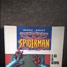 Cómics: ULTIMATE SPIDERMAN.BENDIS BAGLEY.EL DIA DE OCTOPUS.PLANETA DEAGOSTINI.100% MARVEL. Lote 93923860
