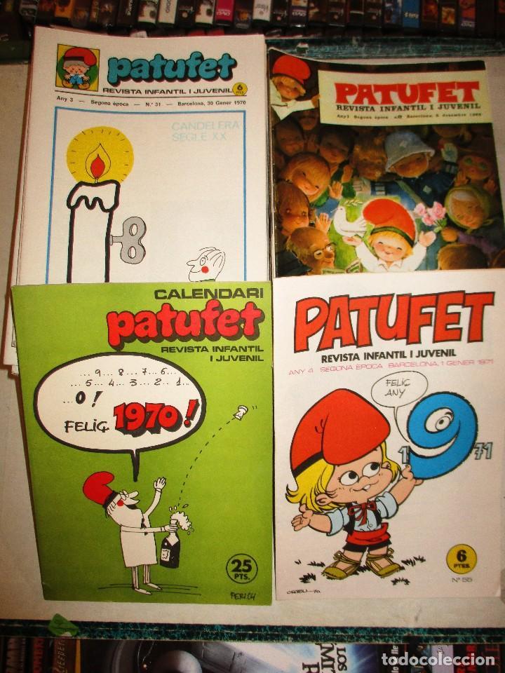 COLECCION PATUFET-65 EJEMPLARES + 2 EXTRAS-AÑOS 70 (Tebeos y Comics - Comics Pequeños Lotes de Conjunto)