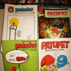Cómics: COLECCION PATUFET-65 EJEMPLARES + 2 EXTRAS-AÑOS 70. Lote 94114660