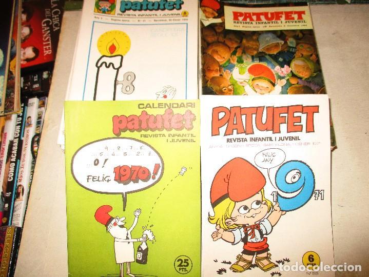 Cómics: COLECCION PATUFET-65 EJEMPLARES + 2 EXTRAS-AÑOS 70 - Foto 2 - 94114660