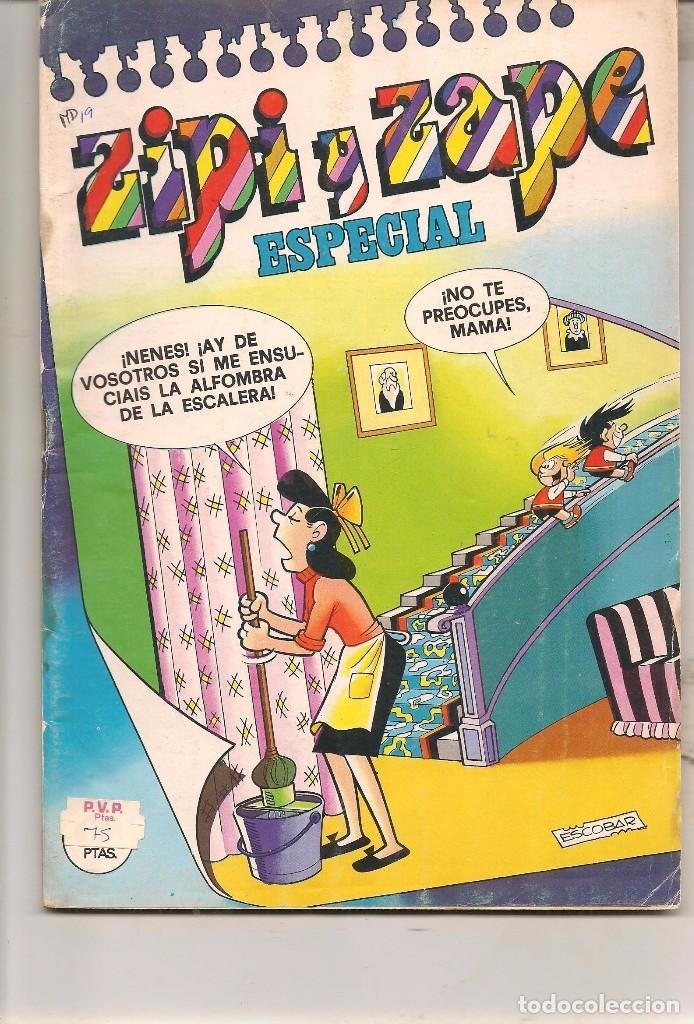 ZIPI Y ZAPE ESPECIAL Nº 19. BRUGUERA. (C/A55) (Tebeos y Comics Pendientes de Clasificar)
