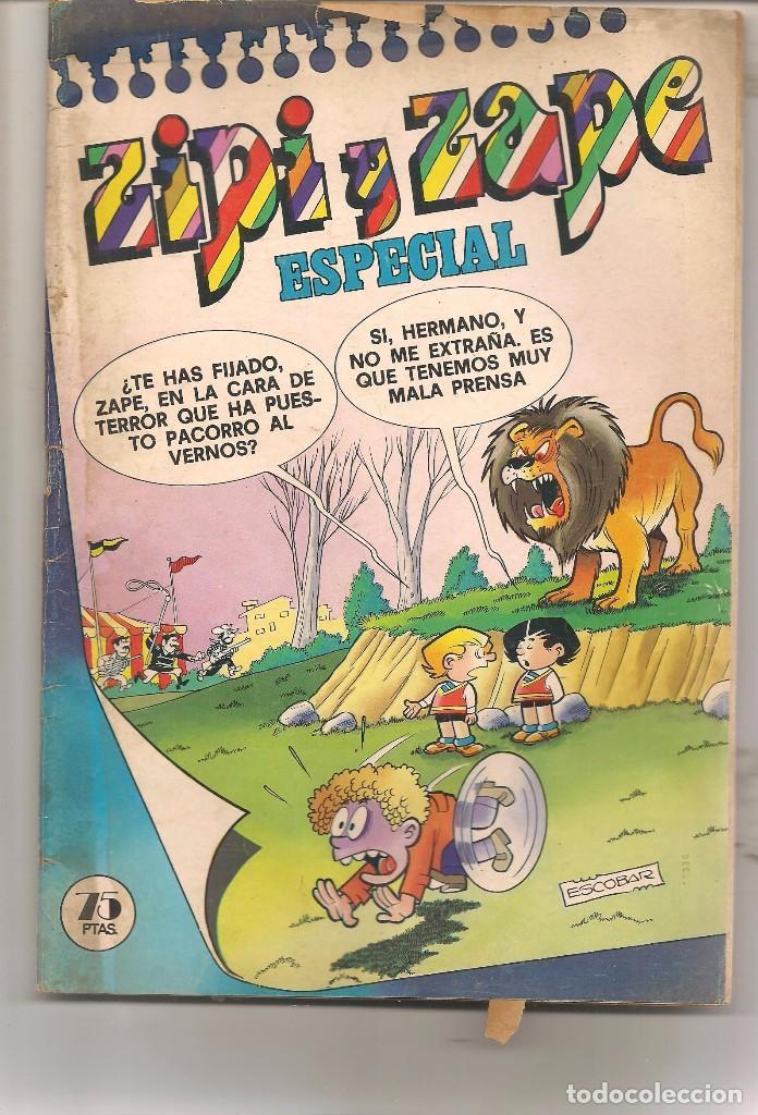 ZIPI Y ZAPE ESPECIAL Nº 20. BRUGUERA. (C/A55) (Tebeos y Comics Pendientes de Clasificar)