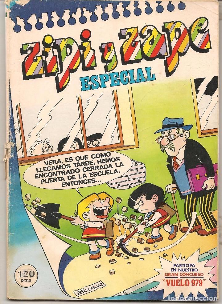 ZIPI Y ZAPE ESPECIAL Nº 21. BRUGUERA. (C/A55) (Tebeos y Comics Pendientes de Clasificar)