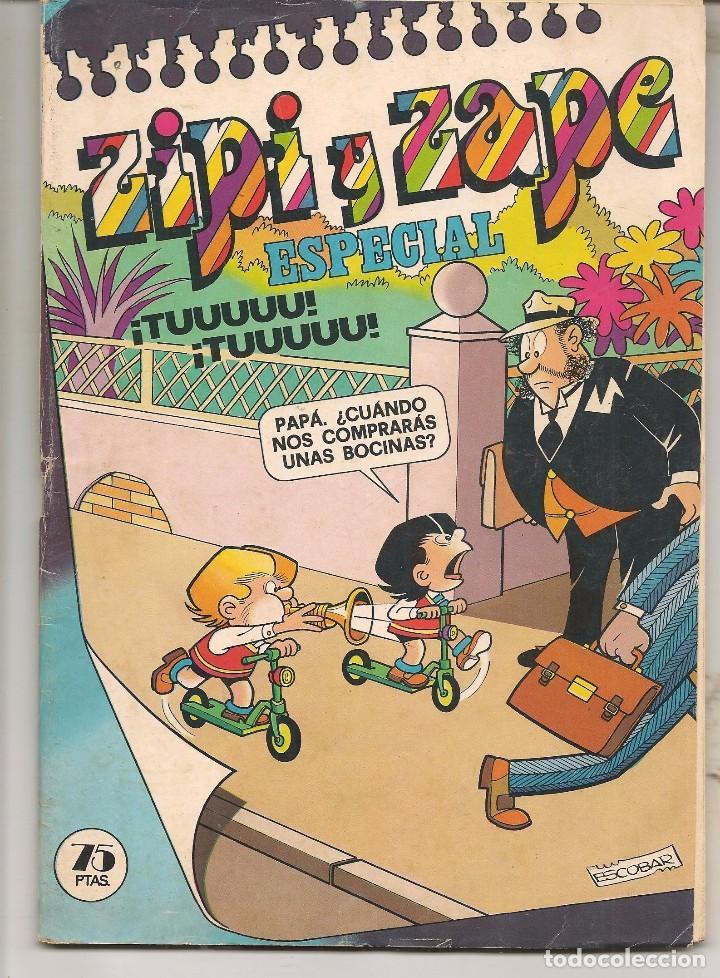 ZIPI Y ZAPE ESPECIAL Nº 34. BRUGUERA. (C/A55) (Tebeos y Comics Pendientes de Clasificar)