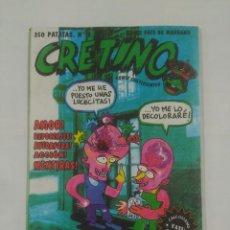 Cómics: CRETINO Nº 2 ANTES PATE DE MARRANO (COMIX SUBVERSIVOS). TDKC27. Lote 136091360