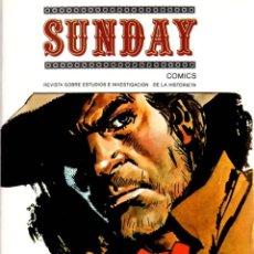 Cómics: SUNDAY COMICS. Nº 6. REVISTA SOBRE ESTUDIOS E INVESTIGACION DE LA HISTORIETA. DICIEMBRE 1979. Lote 130328251