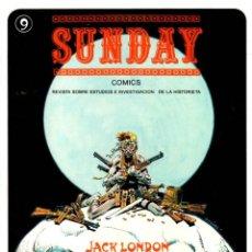 Cómics: SUNDAY COMICS. Nº 9. ENERO 1981. REVISTA SOBRE ESTUDIOS E INVESTIGACION DE LA HISTORIETA. Lote 130328198