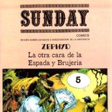Cómics: SUNDAY COMICS. Nº 5. FEBRERO 1979. REVISTA SOBRE ESTUDIOS E INVESTIGACION DE LA HISTORIETA. Lote 130328296