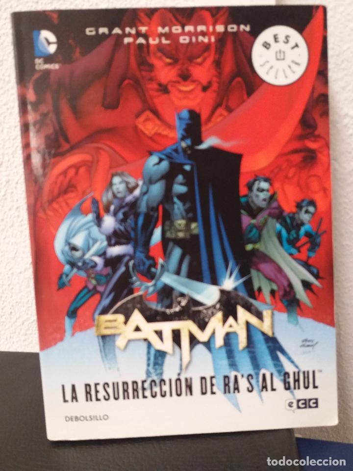 BATMAN -LA RESURRECCIÓN DE RA'S AL GHUL - BEST SELLER (Tebeos y Comics - Comics otras Editoriales Actuales)