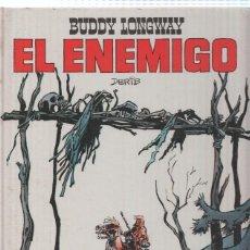 Cómics: COLECCION JET, NUMERO 07: BUDDY LONGWAY - EL ENEMIGO (BRUGUERA 1983). Lote 79128041