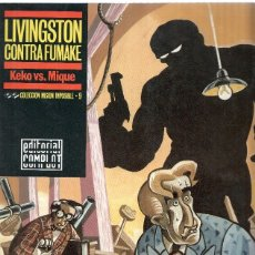 Cómics: COLECCION MISION IMPOSIBLE, NUMERO 09: LIVINGSTON CONTRA FUMAKE / KEKO VS. MIQUE (EDITORIAL COMPLOT . Lote 66091569