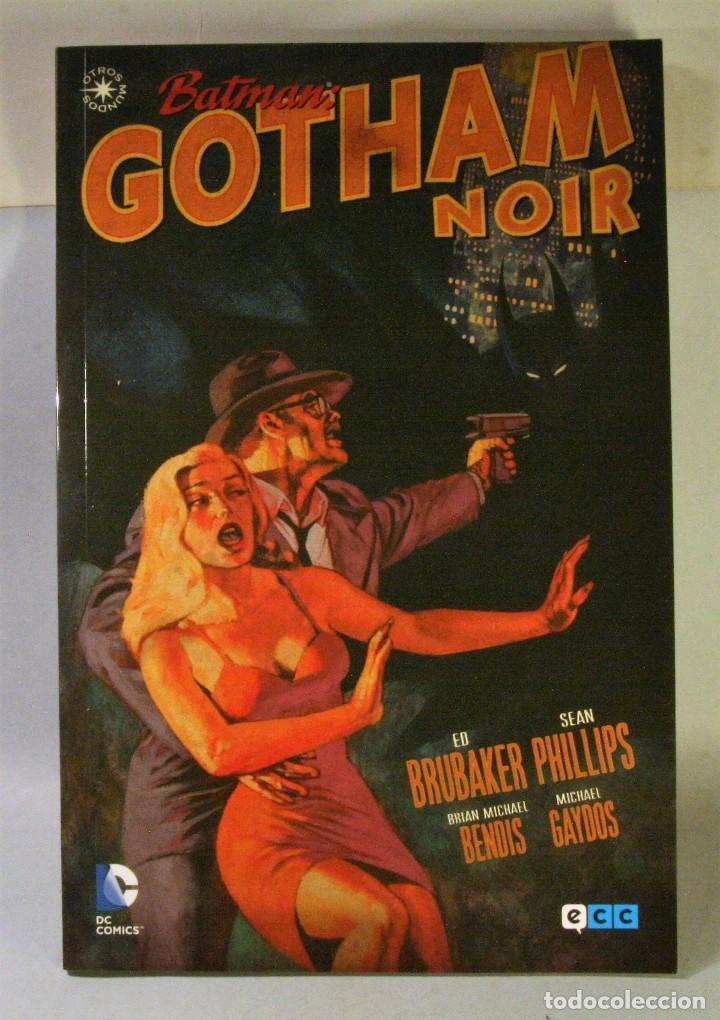COMIC BATMAN GOTHAM NOIR. ECC (Tebeos y Comics - Comics otras Editoriales Actuales)