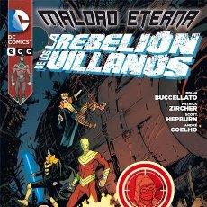 Cómics: MALDAD ETERNA: LA REBELION DE LOS VILLANOS (1 TOMO) ECC EDICIONES. Lote 94672087