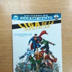 Cómics: LIGA DE LA JUSTICIA #64 - RENACIMIENTO #9 (ECC EDICIONES). Lote 94811235