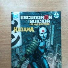 Cómics: ESCUADRON SUICIDA LOS MAS BUSCADOS KATANA #13 (ECC EDICIONES). Lote 94812163