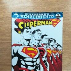Cómics: SUPERMAN #64 - RENACIMIENTO #9 (ECC EDICIONES). Lote 94812327