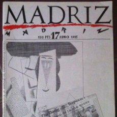 Cómics: MADRIZ Nº 17. 1985. Lote 94935755