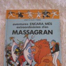 Cómics: AVENTURES ENCARA MES EXTRAORDINARIES D´EN MASSAGRAN -N. 2 -CATALA. Lote 95104419
