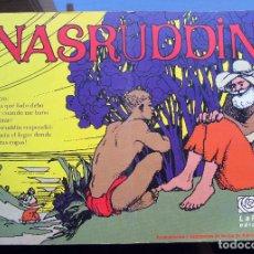 Cómics: NASRUDDIN - ADELA CABALLERO - LA ROSA EDICIONES - 1994 - MUY BIEN CUIDADO. Lote 95104815