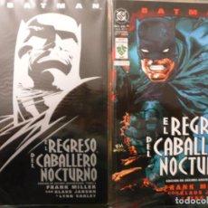 Cómics: COLECCIÓN 2 TOMOS DC/VID MÉXICO BATMAN EL REGRESO DEL CABALLERO NOCTURNO FRANK MILLER. Lote 95119735