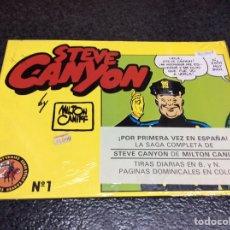 Cómics: STEVE CANYON - Nº 1 / AUTOR : MILTON CANIFF. Lote 95151431