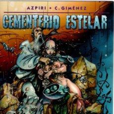 Cómics: CEMENTERIO ESTELAR - AZPIRI Y C. GIMENEZ - NORMA. Lote 95372451