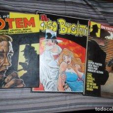 Cómics: CÓMICS SERIE NEGRA: TOTEM EXTRA POLICIAL Nº2, EL CASO BUGATTI Y DICK TRACY. Lote 95384719