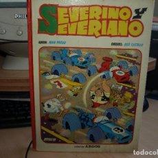 Cómics: SEVERINO Y SEVERIANO - TAPA DURA - AÑO 1971 - COMIC ARGOS. Lote 95390239