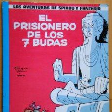 Cómics: SPIROU Y FANTASIO EL PRISIONERO DE LOS 7 BUDAS POR FRANQUIN Y GREG Nº 12. Lote 95417303